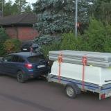 Transportabel flotte